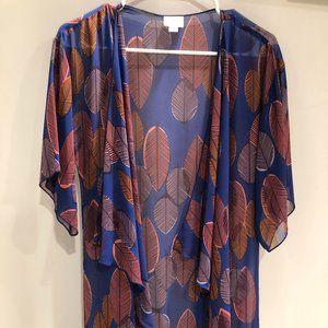 LuLaRue fringe kimono